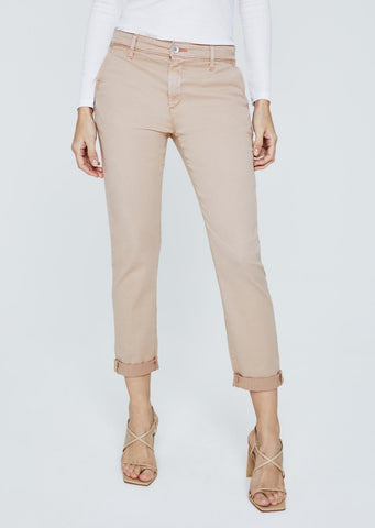AG Caden Cropped Tailored Trouser in Infinte Mauve