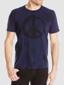 John Varvatos PEACE SPENCER WASH GRAPHIC TEE