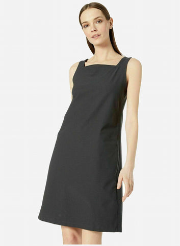 Eileen Fisher Square Neck Dress - Graphite