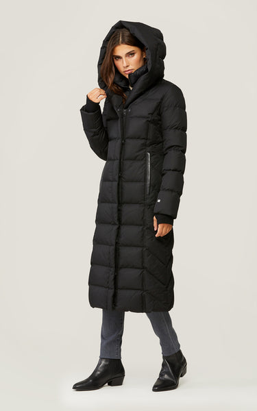 Soia&Kyo Talyse-N Maxi-Length Brushed Down Hooded Coat