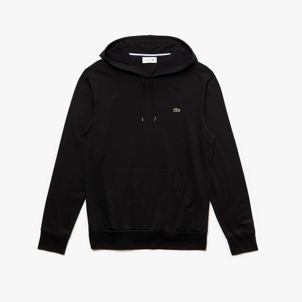 Lacoste Men's Regular Fit Hooded Jersey T-shirt - Black