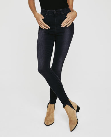 AG Mila High Waist Skinny in Brink