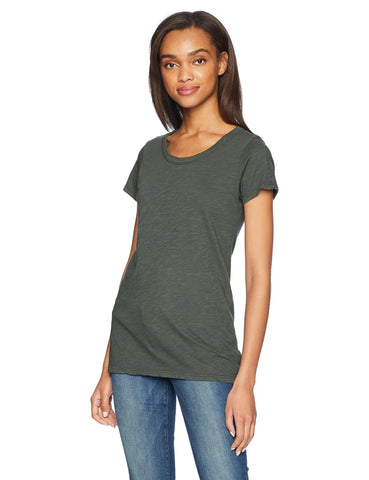 Velvet Tilly03 Originals Crew Neck Tee in Willow