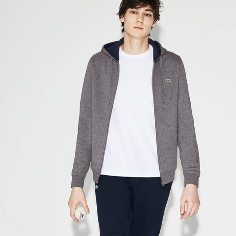 Lacoste Men's Brushed Fleece Zip Hooded Sweatshirt SH7609