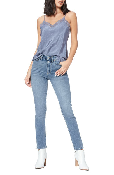 Paige Hoxton Slim w Double Button in Maclaren