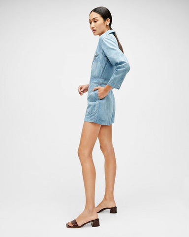 Seven For All Mankind Flight Romper W Zips