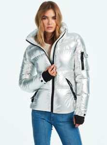 SAM Freestyle Down Jacket Metallic Silver
