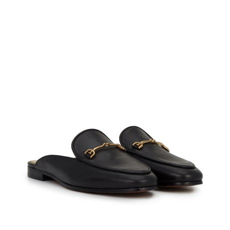 Sam Edelman Linnie Black Calf Bit Mule Loafer