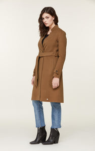 Soia&Kyo Adalicia Long Wool Belted Coat