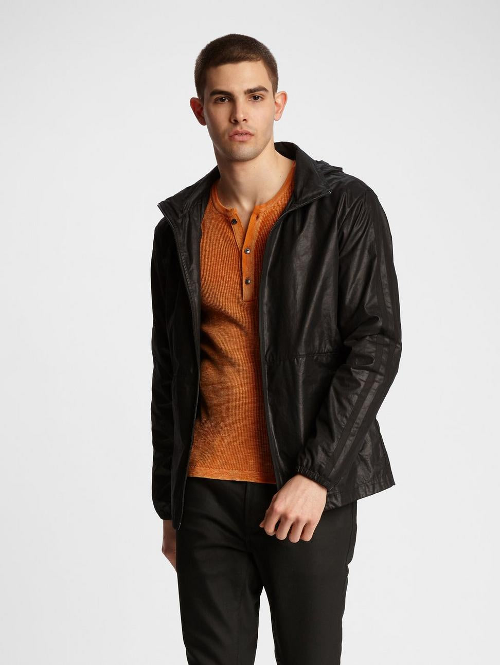 John Varvatos ROBBY WATER REPELLENT WINDBREAKER