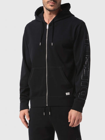 Diesel Men's Brandon Zip Hooded Sweat