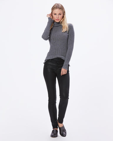 Paige Hoxton Ultra Skinny W/Exposed Buttonfly Luxe Coating 5647901-3354