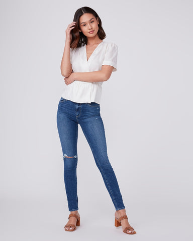 Paige Hoxton Ultra Skinny in Blaine Destructed