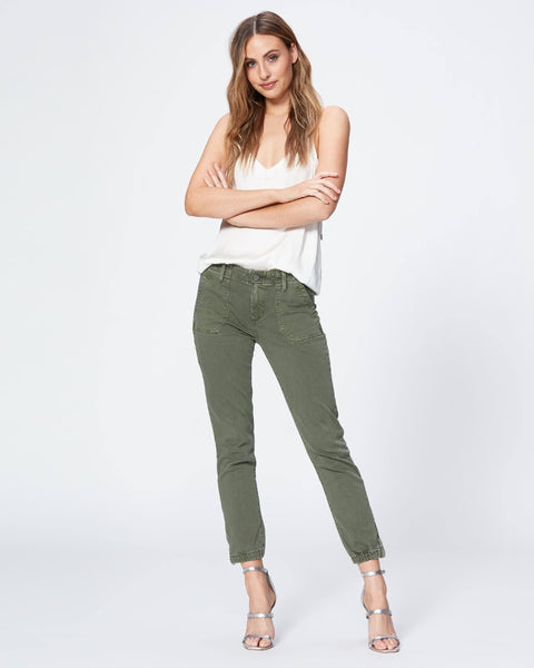 Paige  Mayslie Jogger in Vintage Ivy Green