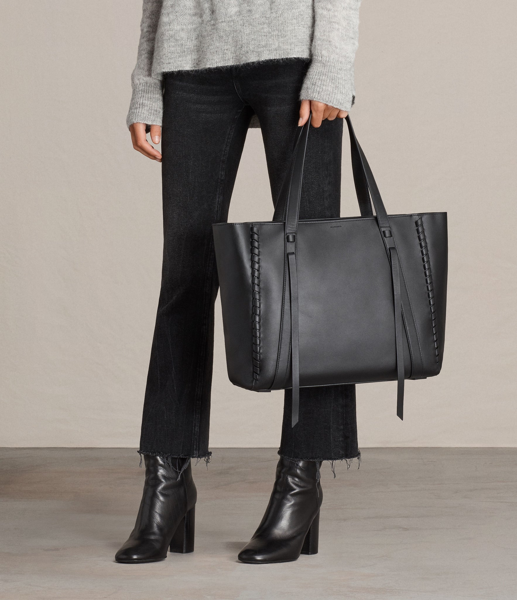 AllSaints Ray East West Tote