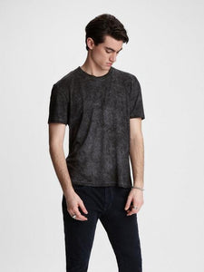 John Varvatos HILLSBORO SS CREW NECK - Nickel
