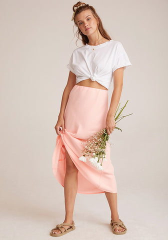 bella dahl soft touch tencera bias midi skirt