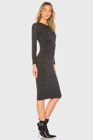 IRO Napinka Dress - Anthracite