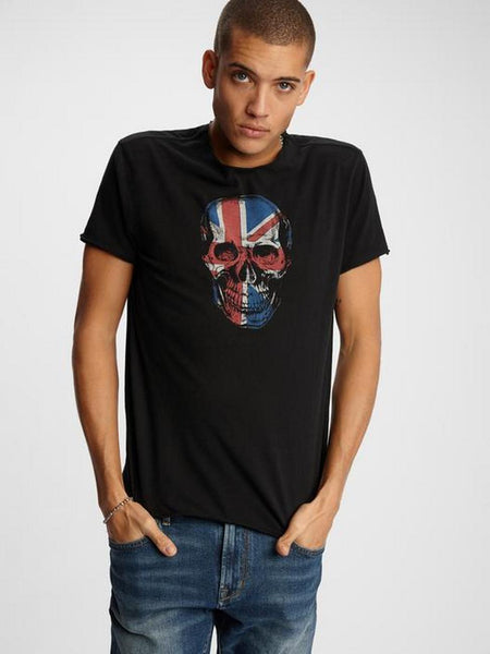 John Varvatos UNION JACK SKULL Graphics Tee