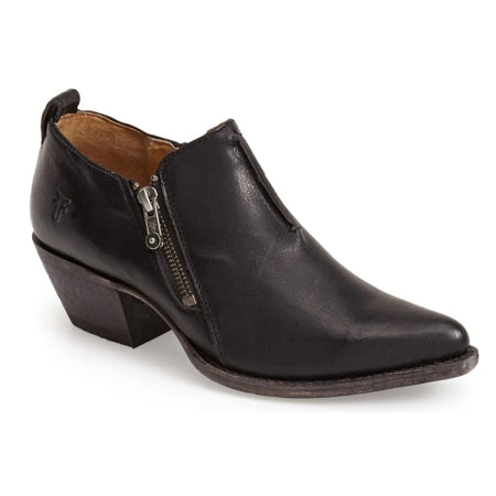 Frye Sacha Zip Shootie - Black