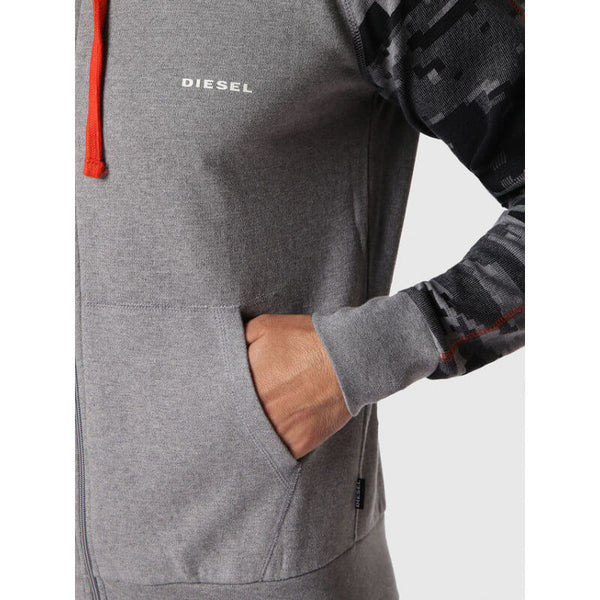 Diesel Men's UMLT-Brianz Zip Hooded Top