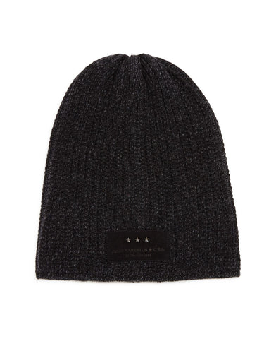 John Varvatos PLATED THERMAL SLOUCH KNIT HAT