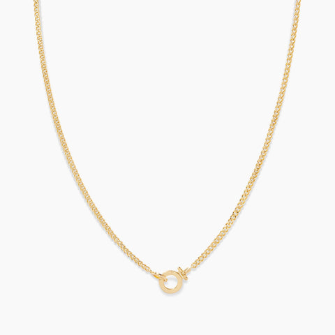 gorjana Wilder mini necklace in gold
