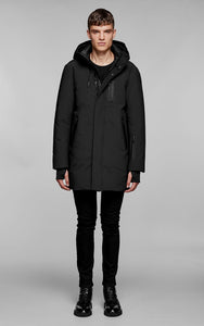 Mackage Men's CHANO hip length powder touch down coat