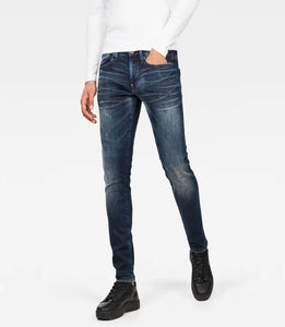 G-STAR Men's Revend Skinny - Wave Destroyed