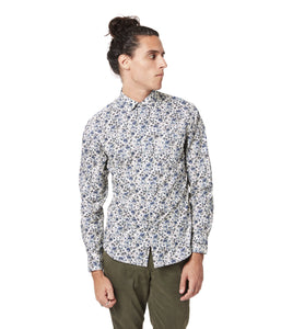GoodMan Brand LS Print Shirt Off White Spider Floral