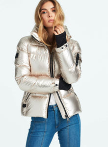 SAM Freestyle  Down Jacket White Gold