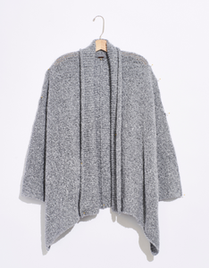 Free People BFF Cardigan in Heather Grey