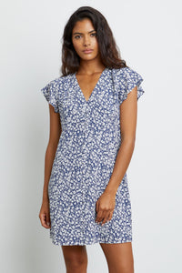 Rails Helena floral dress in Navy Camellia