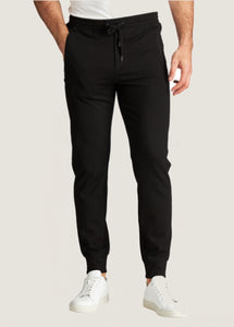 Patrick Assaraf Men's Jogger Pant - Black