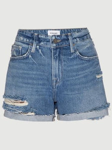 FRAME Le Grand Garcon Short in Montgrove Rips