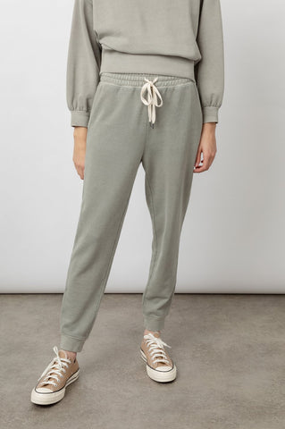 Rails Oakland French Terry Lounge Pant in Sage