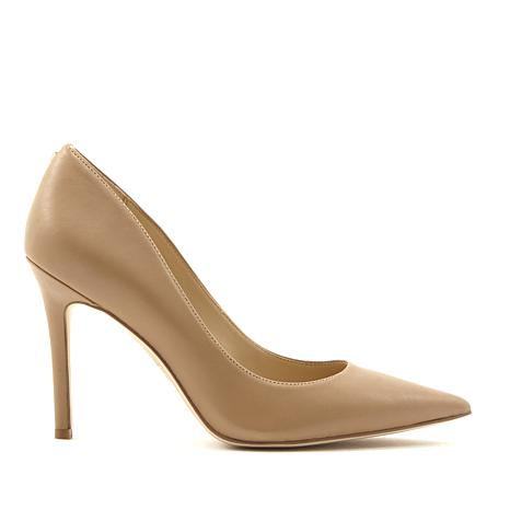 Sam Edelman Hazel Classic Leather Pump in Nude