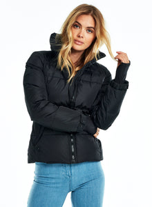 SAM Freestyle Matte Down Jacket in Black