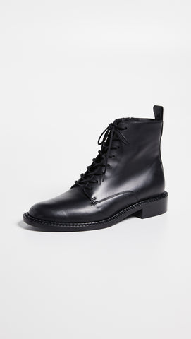 Vince Cabria Lug Lace-up Boot in Black