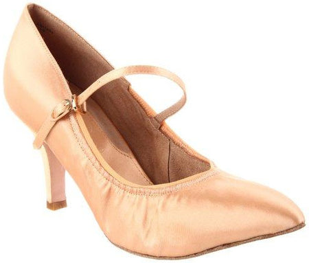 "Alyssa - Antique Silk - 2.5"" Heel"