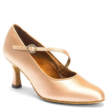 "ICS - Flesh Satin - 2"" Heel"