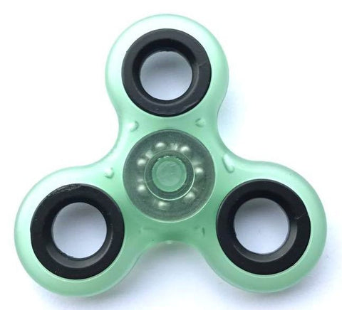 Green Fluorescent Fidget Spinner