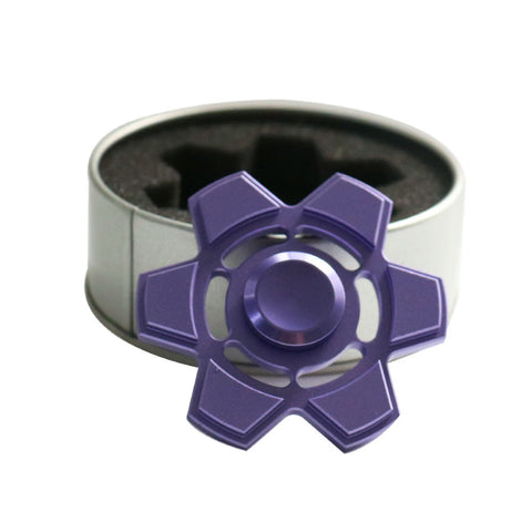 Purple Hexa Fidget Spinner
