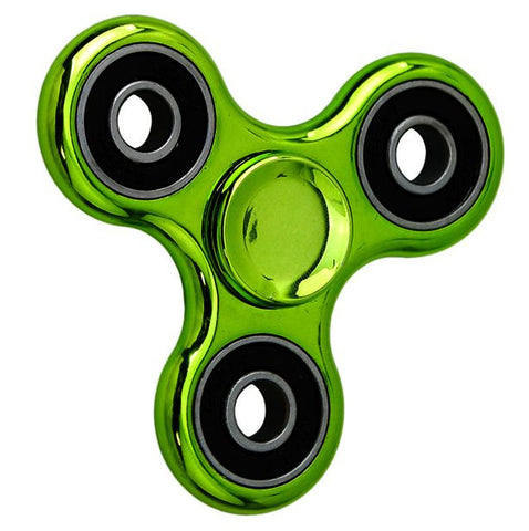 Green Chrome Fidget Spinner