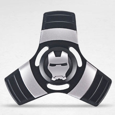 Iron Metallic Tri Fidget Spinner