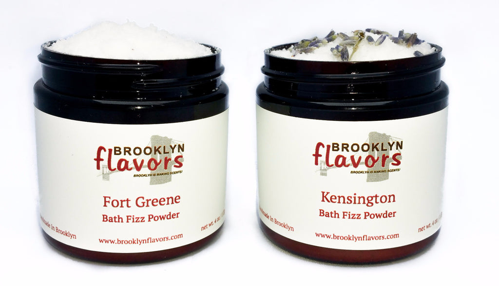 Brooklyn Flavors Bath Fizz Powder