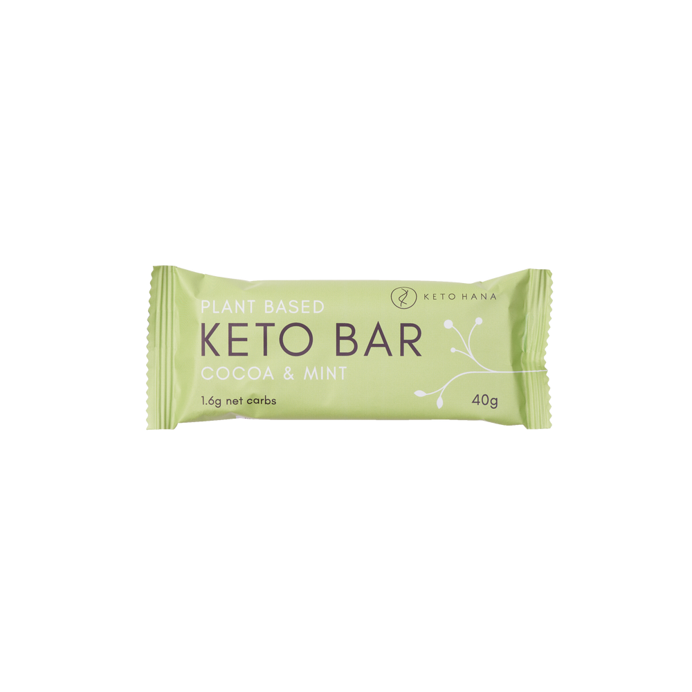 Cocoa & Mint Keto Bar
