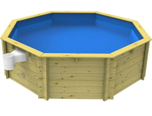 10ft Wooden Fun Pool - 10ft Plastica Wooden Fun Pool - World of Pools