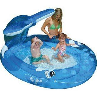 Intex Whale Spray Paddling Pool - World of Pools