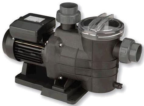 Certikin Mini Pump - Self Priming Pump For Salt Chlorinated Pools - World of Pools